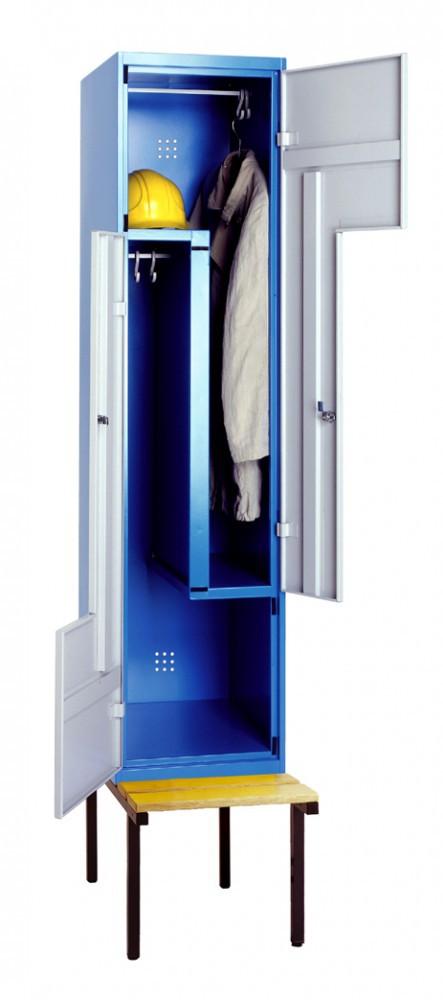 z garderobenschrank auf untergestell top premium h he 1800 breite 400 tiefe 500 sozialraum. Black Bedroom Furniture Sets. Home Design Ideas