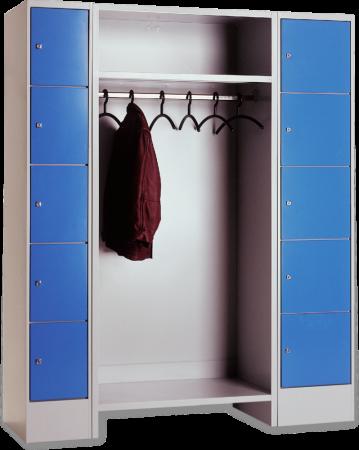 Garderoben mit schlie f chern for Breite garderobe